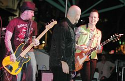 The Fabulous Thunderbirds under ett uppträdande 2006