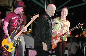 English: The Fabulous Thunderbirds performing ...