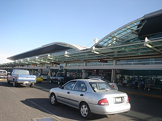 Miguel Hidalgo y Costilla Guadalajara International Airport - Airport's Main entrance.