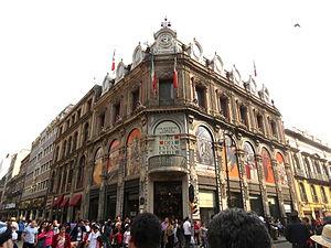 Museo del Estanquillo - The museum is located in the Edificio Esmeralda