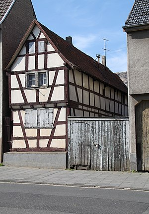 Timber framing house in Germany, Rhineland-Palatinate