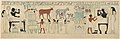 Facsimile of the painting on the inner back side of the sarcophagus of Aashyt MET DT232303.jpg