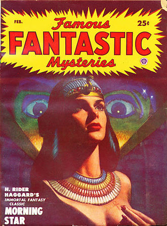 Morning Star (Haggard novel) - Morning Star was reprinted in Famous Fantastic Mysteries in 1950