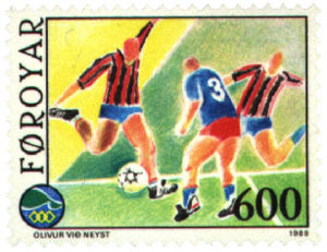 Faroe stamp 182 football.jpg