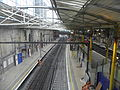 Farringdon station Thameslink high northbound from concourse 2012.JPG