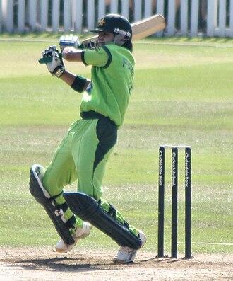 Fawad Alam - Image: Fawad alam batting