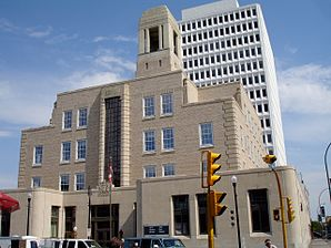 Das Federal Building in Regina