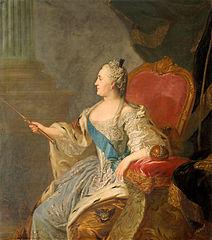 Portrait of Catherine II