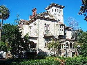 Robert Sands Schuyler - Fairbanks House on Fernandina Beach, Amelia Island