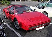 1989 3.2 litre Ferrari 328 GTS Targa at a car ...