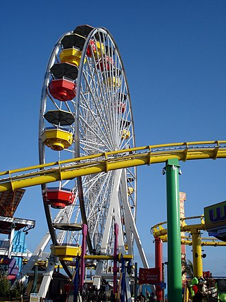 Pacific Park - Image: Ferris wheel in Santa Monica CA boardwalk 2009
