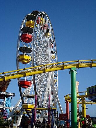 Pacific Park - Image: Ferris wheel in Santa Monica CA boardwalk 2009