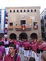 Festa Major Agramunt 2015 Castellers - 01 Moixiganguers p4.JPG