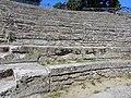 Fiesole - Archäologische Zone - Theater - Sitzreihen 1, August 2019.jpg