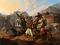 Fighting between Serbs and Turks (1847).jpg