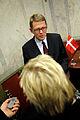 Finlands statsminister Matti Vanhanen pa pressmote vid Nordiska radet session i Stockholm 2009 (4).jpg