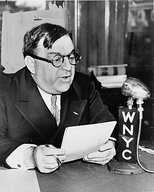 WNYC - Mayor Fiorello H. La Guardia on his Talk to the People program on WNYC