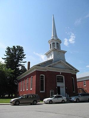 Swanton (village), Vermont - Swanton Christian Church