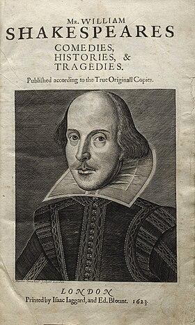 Questão Da Autoria Das Obras De Shakespeare Wikipédia A
