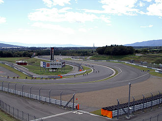 Fuji Speedway - The sixth corner hairpin