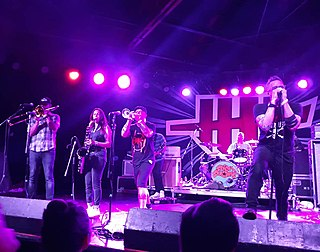 Five Iron Frenzy Christian ska and punk band