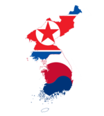 Flag-map of Korea.png