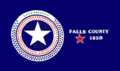 Flag of Falls County, Texas.png