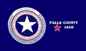 Sarahville de Viesca, Texas - Image: Flag of Falls County, Texas