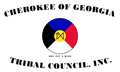 Flag of the Cherokee of Georgia Tribal Council.PNG