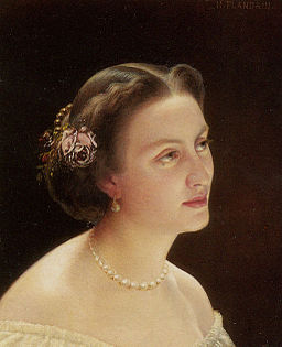 Flandrin Hippolyte Jean Portrait of A Lady Bust
