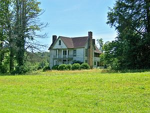 National Register of Historic Places listings in Transylvania County, North Carolina - Image: Flem Galloway House