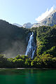 Flickr - JennyHuang - The fall of Milford Sound(New Zealand).jpg