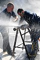 Flickr - Official U.S. Navy Imagery - Sailors practice pipe-patching..jpg