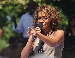 Flickr Whitney Houston performing on GMA 2009 7