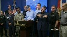 Archivo: Gobernador de Florida, Rick Scott, en Evacuations.webmsd.webm
