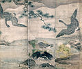 Flowers and Birds attributed to Sesshu (Sesshu Memorial Museum).jpg