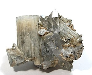 Zinnwaldite - Fluorapatite with topaz on zinnwaldite and quartz