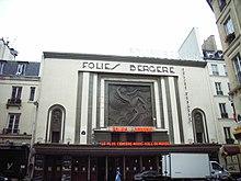 exterior of a theatre