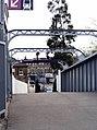 Footbridge across the railway, Bowes Park - geograph.org.uk - 166884.jpg