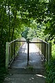 Footbridge over A31 from Tichborne Down to Alresford Golf Course - geograph.org.uk - 869246.jpg