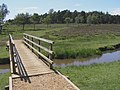 Footbridge over Ober Water, Ferny Knap, New Forest - geograph.org.uk - 191092.jpg