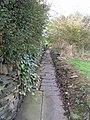 Footpath - Chapel Lane - geograph.org.uk - 1011421.jpg