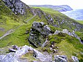 Footpath at Aldrick, Isle of Man - geograph.org.uk - 190170.jpg