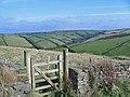 Footpath gate at Trevigue. - geograph.org.uk - 61303.jpg