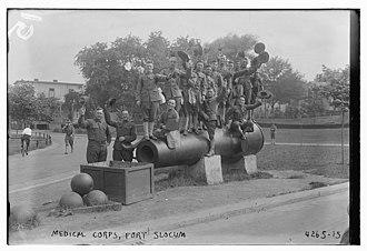 Fort Slocum - Image: Fort Slocum Medical Corps