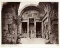 Fotografi på Dianas tempel i Nîmes - Hallwylska museet - 107238.tif