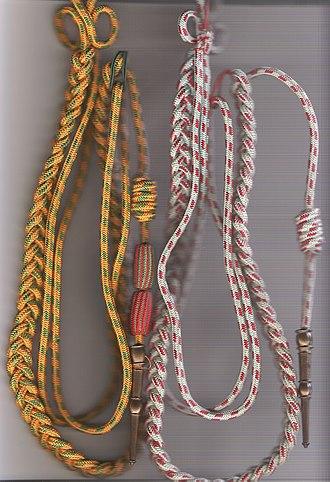 1st Spahi Regiment - Image: Fourragères aux couleurs de la médaille militaire puit des T.O.E