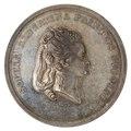 Framsida av medalj med bild av Sofia Albertina i profil - Skoklosters slott - 99616.tif
