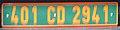 France diplomatic license plate 401 CD 2941.jpg