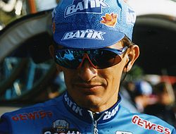Francesco Frattini a la París-Tours 1997